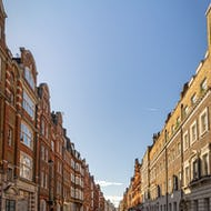 Great Titchfield Street is one of the loveliest strets in Fitzrovia