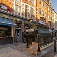 Attendant Fitzrovia serves coffee, breakfast and light lunch in a restored Victorian toilet