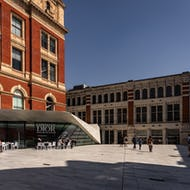 Exhibition Road entrance to the Victoria & Albert Museum