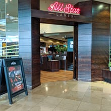 All Start Lanes offers food and bowling